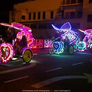 Colorful Rickshaws by vishwadeep  anshu