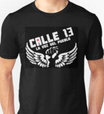 "Calle 13  ""La voz del Pueblo"" Slim Fit T-Shirt"
