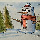Christmas Card #8 by Kostas Koutsoukanidis