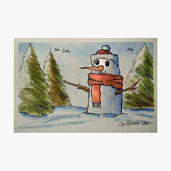 Christmas Card #8 Photographic Print