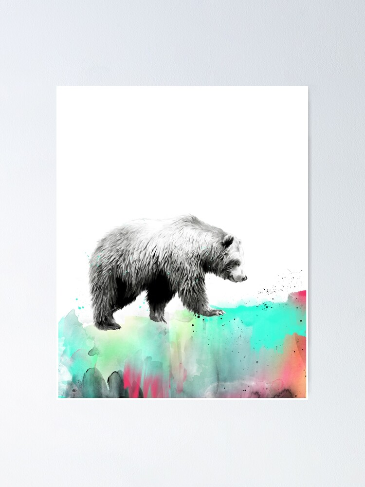 Alternate view of Wild No.1 // Bear Poster