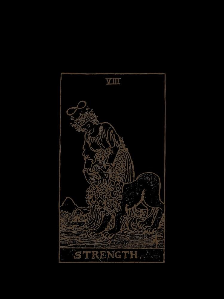 Strength Tarot by EsotericExposal