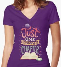 One more chapter Women's Fitted V-Neck T-Shirt