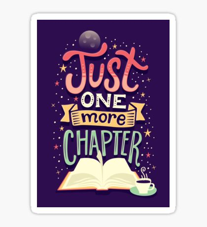 One more chapter Sticker