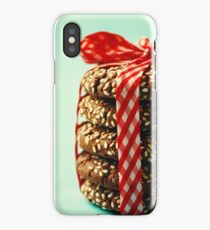 Stack of Fresh Natural Homemade Cookies  iPhone Case