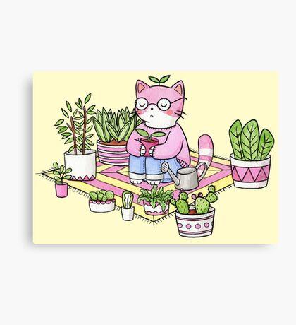 Cacti Meditation Canvas Print