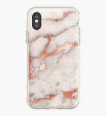 Rose gold marble phone case cover iPhone Case