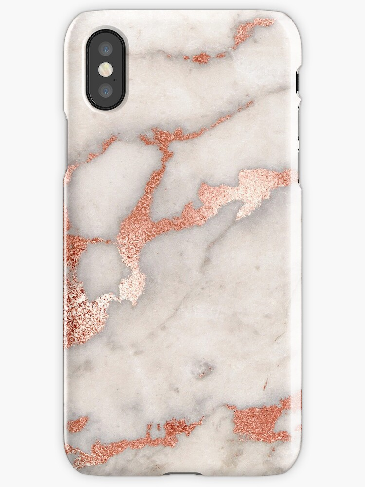 Quot Rose Gold Marble Phone Case Cover Quot Iphone Cases Amp Covers