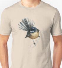 Mr Pīwakawaka -Fantail , New Zealand native bird Unisex T-Shirt