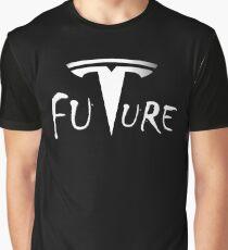 Tesla motors is Future - Cars Elon Musk Graphic T-Shirt