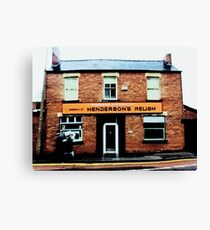 Hendersons Relish Canvas Print