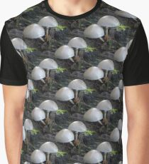 Toadstool Rows Graphic T-Shirt