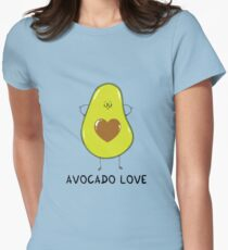 Avocado Love Womens Fitted T-Shirt
