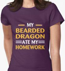 My Bearded Dragon Ate My Homework Funny School  T-Shirt