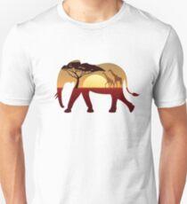 Elephant Landscape Unisex T-Shirt