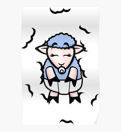 HeinyR- Baby Boy Sheep Poster