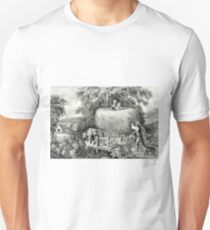 Haying-time the first load - 1868 Unisex T-Shirt