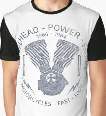 Harley Davidson Shovelhead Power 1966 - 1984 Graphic T-Shirt