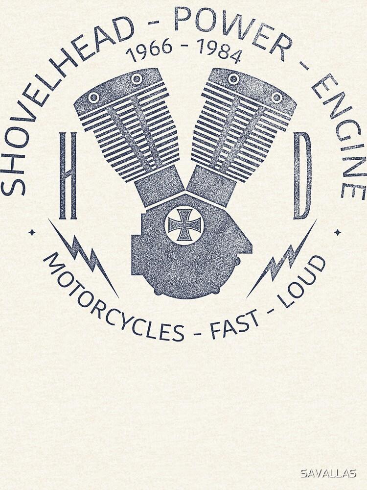 Harley Davidson Shovelhead Power 1966 - 1984 von SAVALLAS