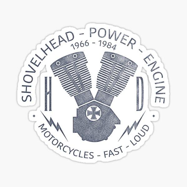 Harley Davidson Shovelhead Power 1966 - 1984 Sticker