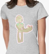 Robot Love Womens Fitted T-Shirt