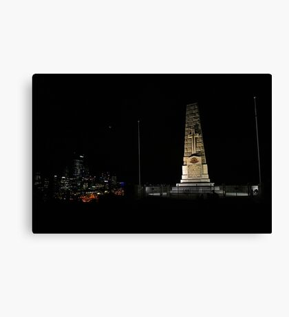 Lunar Eclipse - Perth, Western Australia Canvas Print