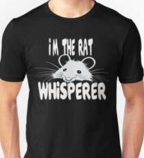 Rat Whisperer Unisex T-Shirt