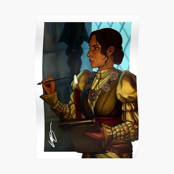 Dragon Age Inquisition Josephine Poster