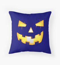 Pumpkin O' Lantern Throw Pillow