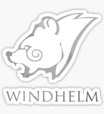 WINDHELM SKYRIM Sticker