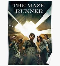 The Maze Runner Characters Poster