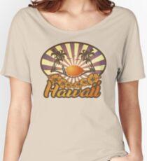 Hawaii Paradise Surf Beach Women's Relaxed Fit T-Shirt