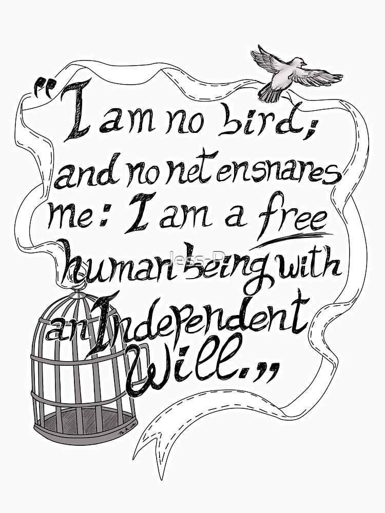 I am no bird // Jane Eyre by Jess-P