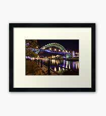 Newcastle Tyne Bridge Framed Print