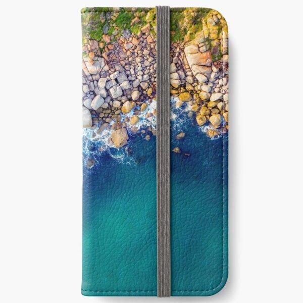 Crumbled Granite iPhone Wallet