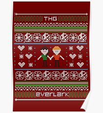 everlark christmas sweater pattern Poster