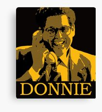 The Wolf Of Wall Street - Donnie Canvas Print