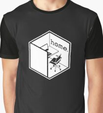 Cubicle Of Home Funny Graphic T-Shirt