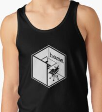 Cubicle Of Home Funny Tank Top