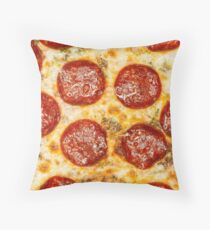 Pepperoni Pizza Throw Pillow