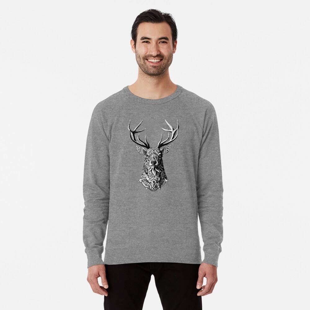 Verzierter Buck Leichter Pullover