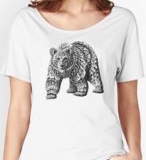 Ornate Bear Women's Relaxed Fit T-Shirt