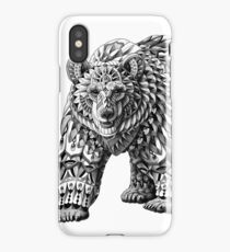 Ornate Bear iPhone Case