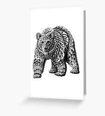 Ornate Bear Greeting Card