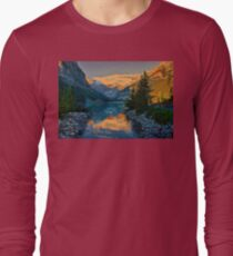 Canada. Banff National Park. Lake Louise in the morning. T-Shirt