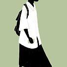 100 Days. Guy in skirt. by MarcConaco