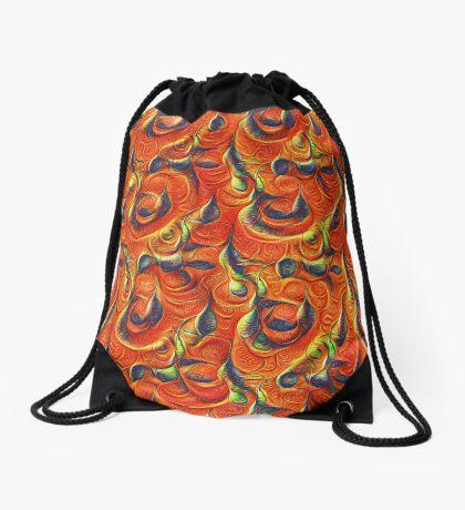 Citrus #DeepDream Drawstring Bag