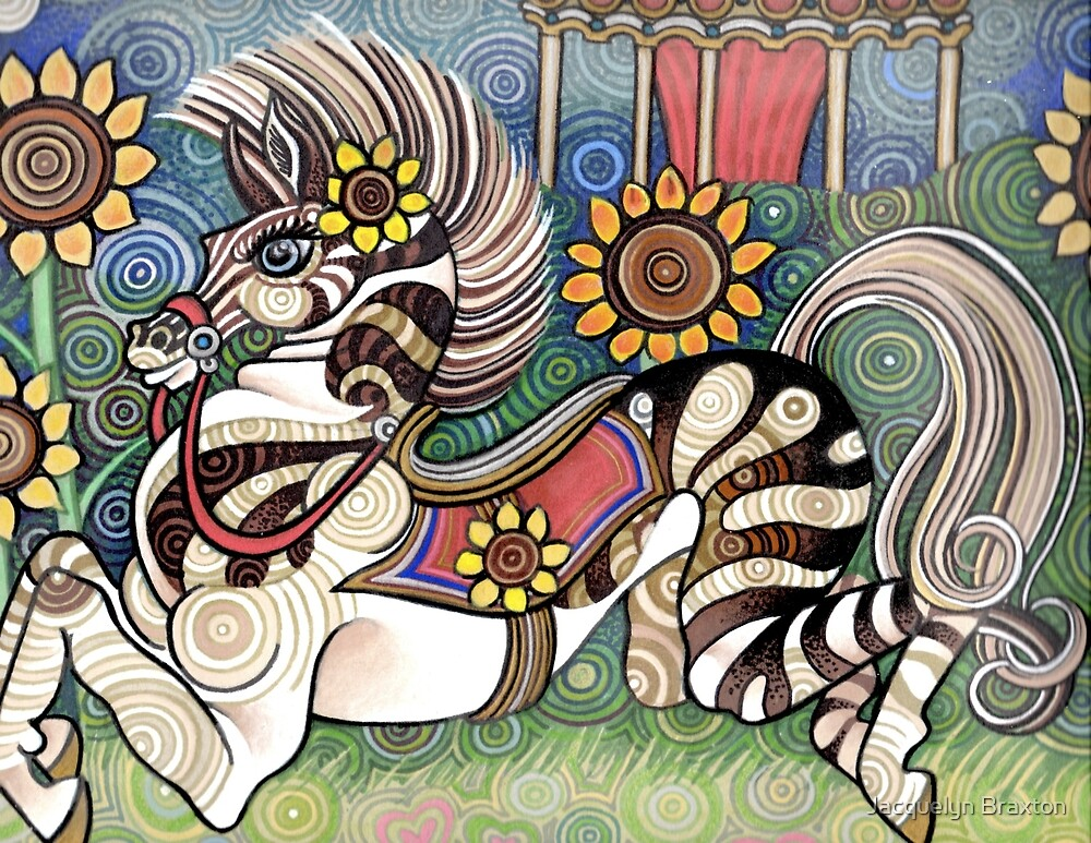 Carousel Zorse by Jacquelyn Braxton