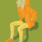 100 Days. Guy in the orange parka. by MarcConaco