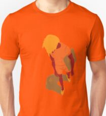 100 Days. Guy top view foreshortened. T-Shirt